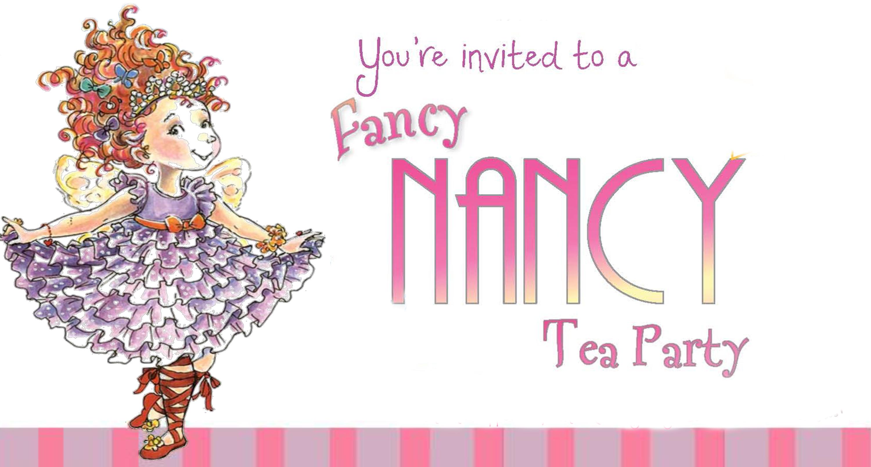 Fancy Nancy Tea Party | Support Packard Children\'s Hospital